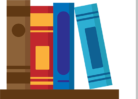 book icon with seporator