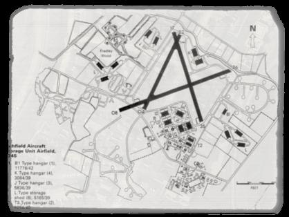 RAF Map Photograph